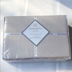 NEW 600 TC Herringbone Stripe Sheet Set Collection